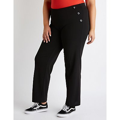 Plus Size Wide Leg Pants