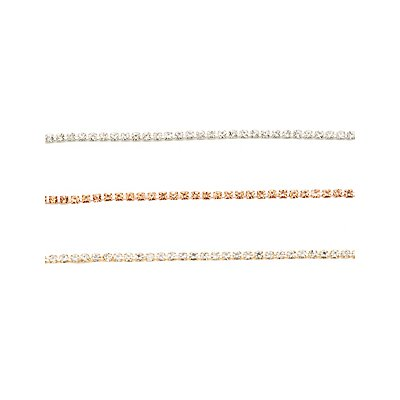 Multi Crystal Chain Choker Necklace