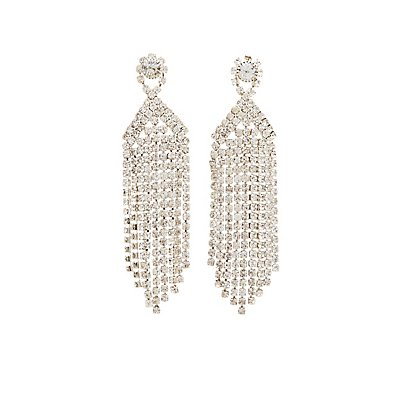 Crystal Cascading Earrings