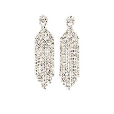 Crystal Cascading Earrings
