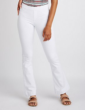 Cello Mid Rise Flare Jeans