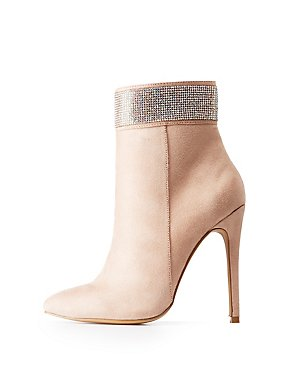 Crystal Ankle Booties