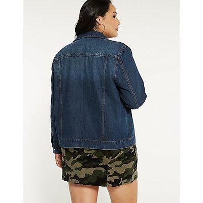 Plus Size Refuge Classic Denim Jacket