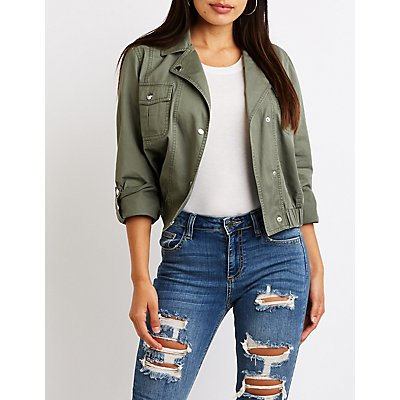 Anorak Cropped Jacket