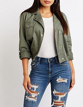 Anorak Cropped Jacket