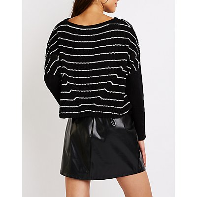 Stripe Pullover Sweater