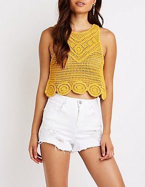 Macrame Crop Top