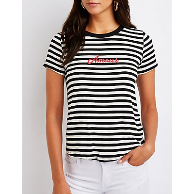 Amour Striped Tee