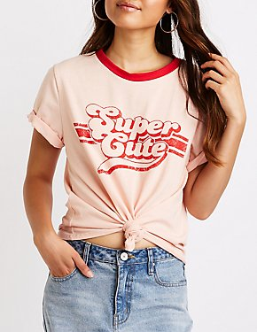 Super Cute Graphic Tee