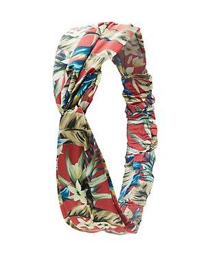 Floral Twist Headband