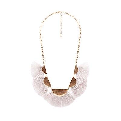 Fringe Bib Necklace