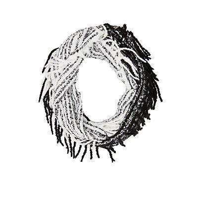 Fringe Infinity Scarf