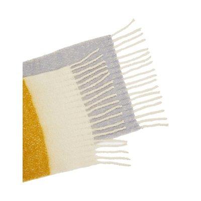 Striped Knit Scarf
