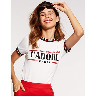 J'Adore Paris Graphic Tee