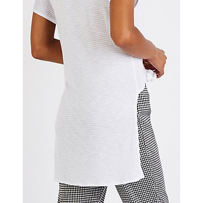 Knotted Hi Low Tunic