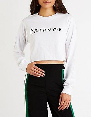 Friends Crop Top