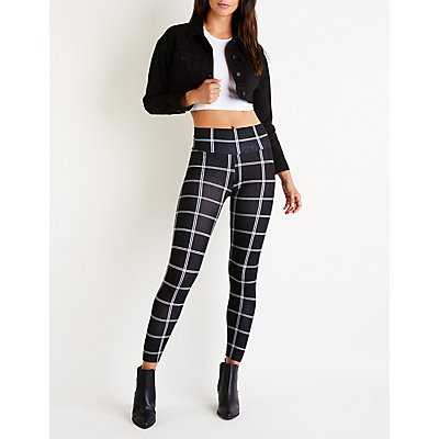 Windowpane Leggings
