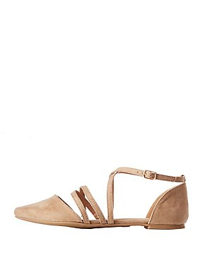 Crisscross Pointed Flats