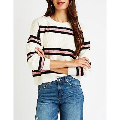 Stripe Pullover Sweater