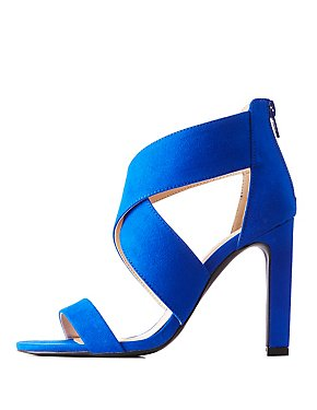 Crisscross Stiletto Sandals