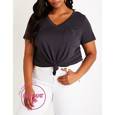 Plus Size Confident Tee