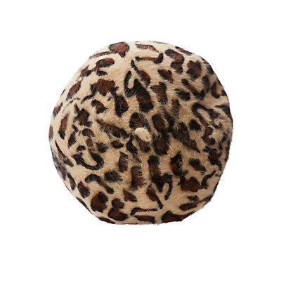 Leopard Beret Hat