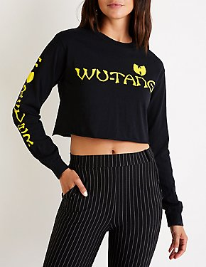 Wu-Tang Forever Graphic Crop Top