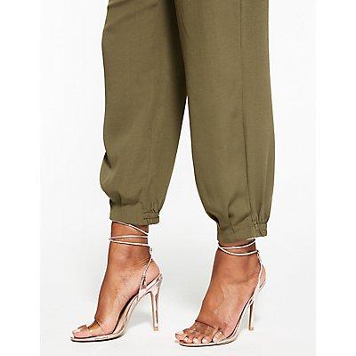 High Waist Jogger Pants