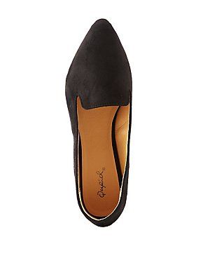 Qupid Pointed Toe Flats