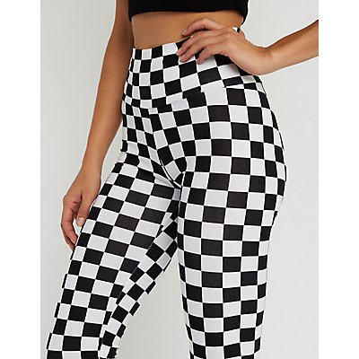 Checkered Leggings