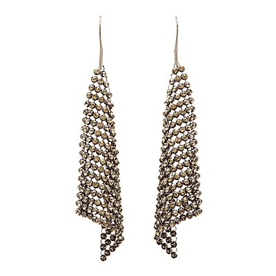 Chainlink Mesh Drop Earrings