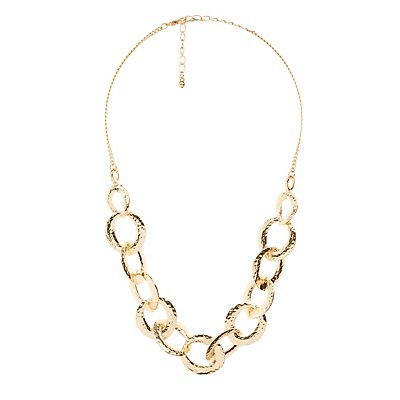 Linked Statement Necklace