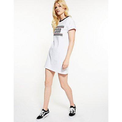 Vibes Shirt Dress
