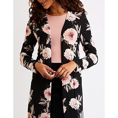 Floral Duster Cardigan