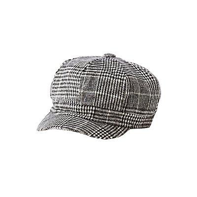 Glen Plaid Cabby Hat