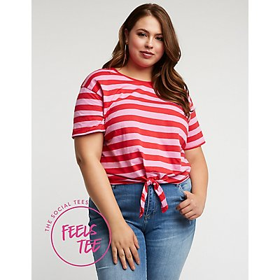 Plus Size Feels Tee