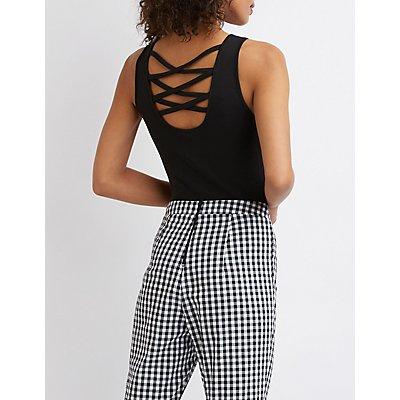 Caged Back Bodysuit