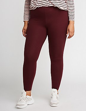 Plus Size Stretchy Leggings