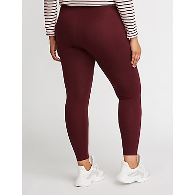 Plus Size Stretchy Leggings