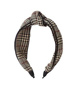 Glen Plaid Headband