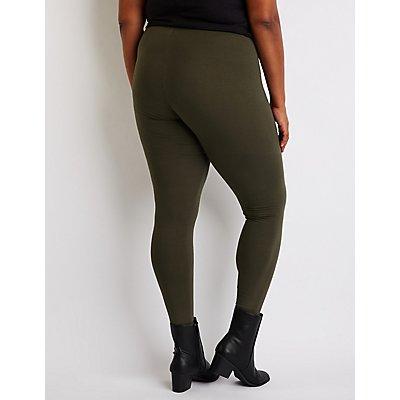 Plus Size High Waist Leggings