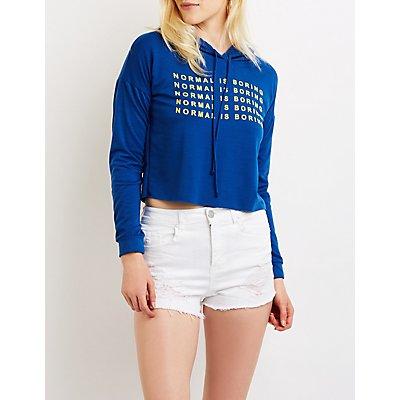 Normal Is Boring Hoodie Sweater