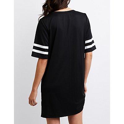 Mesh Football Jersey Dress
