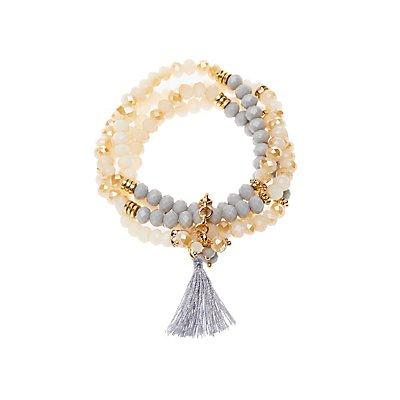 Tassel Beaded Bracelet