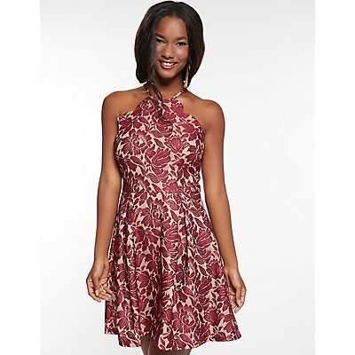 Little Red Dresses Charlotte Russe