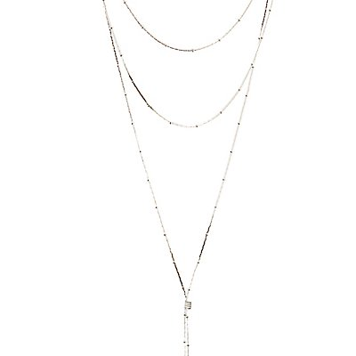 Multi Beaded Layering Necklace