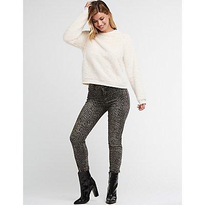 Refuge Cheetah Skinny Jeans