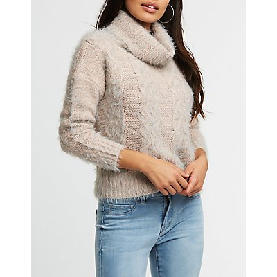 Turtleneck Pullover Sweater