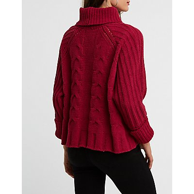 Chenille Oversize Pullover Sweater