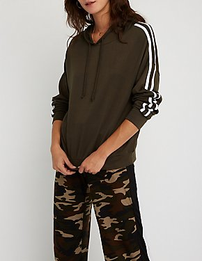 Varsity Striped Hoodie